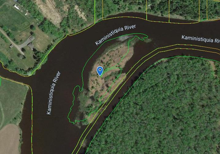 """Island """"A"""" Kam River"""